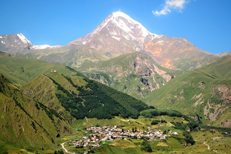 Stepantsminda, Georgia