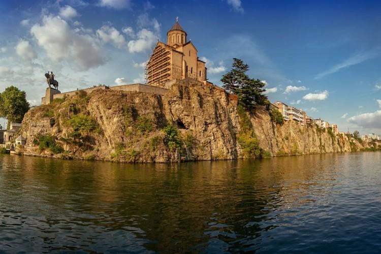 Metekhi Church - Old Tbilisi
