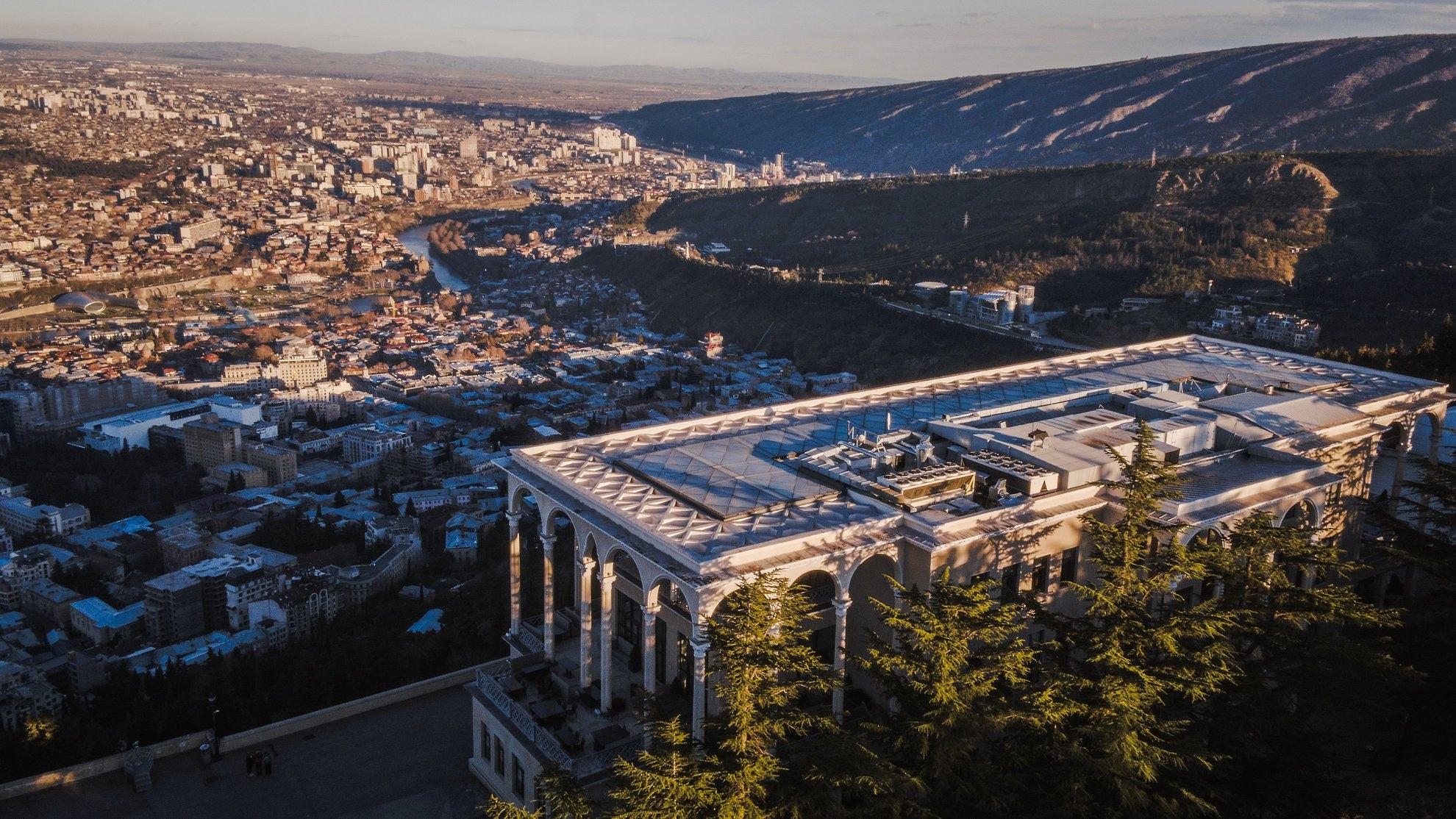Restaurant Funicular in Tbilisi