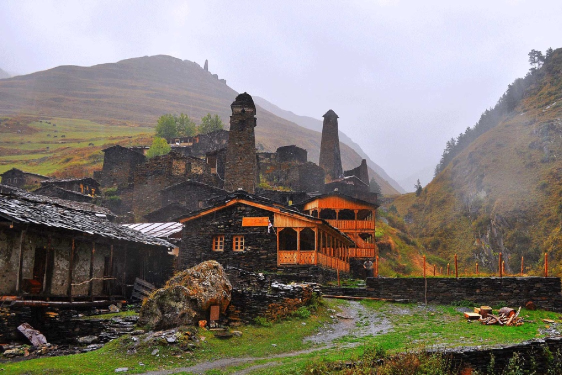 Tour to Tusheti, Tusheti National Park