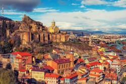 Narikala Fortress, Old Tbilisi