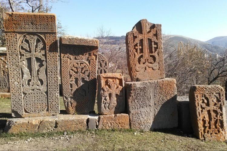 Tsagkhadzor Rock Crosses