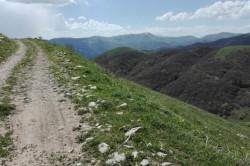 Way to Mount Teghenis