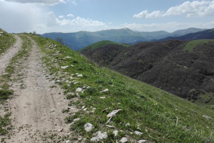 Way to Mount Teghenis
