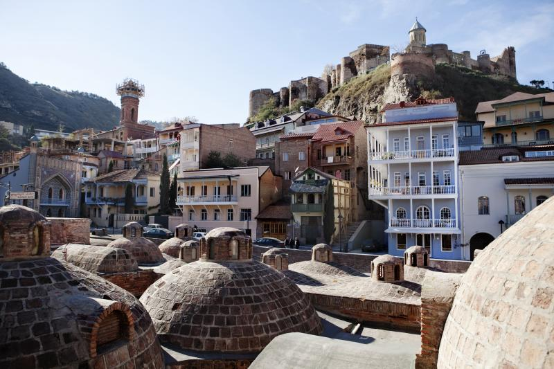 Sulfur Baths District, Old Tbilisi