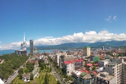 Batumi city view