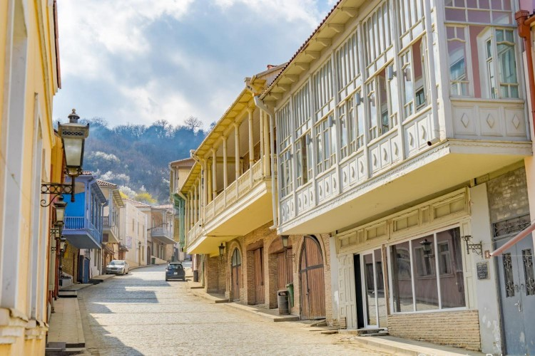 Sighnaghi street view
