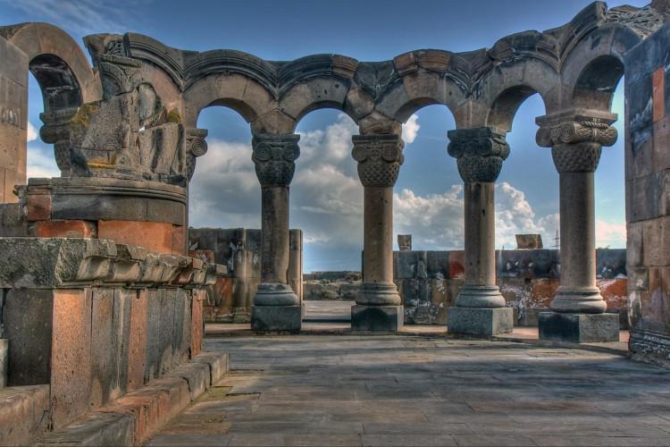 Zvartnoc Ruins