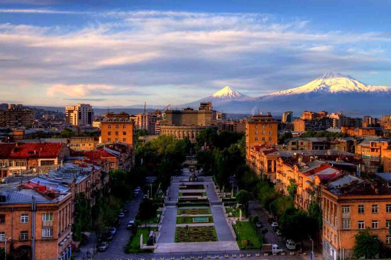 Yerevan City View