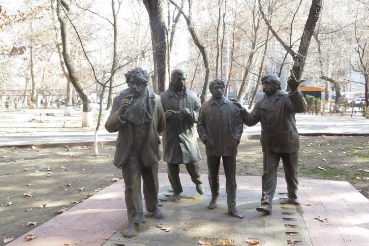 Yerevan Statues
